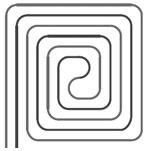 slakkenhuis-patroon